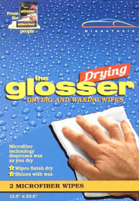 The Drying Glosser - Drying Wipe with Wax