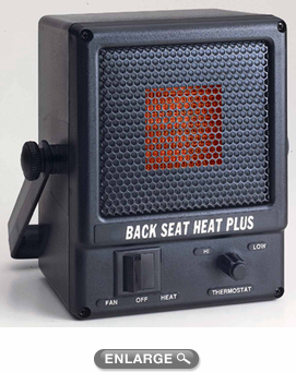 Thermo-Tec 24 Volt Back Seat Heater