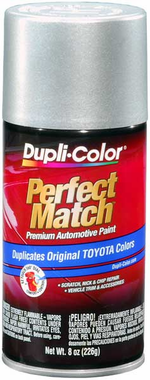 Toyota Metallic Silver Auto Spray Paint 1c8 1999 2006