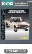 Toyota Trucks (1970-88) Chilton Manual