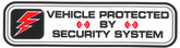"Trimbrite ""Security System"" Decals 2-Pack"
