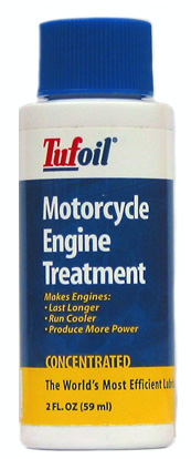 Image of Tufoil Engine Treatment For Motorcycles 2 Oz.