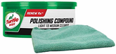 Turtle Wax Polishing Compound (10.5 oz.) & Microfiber Cloth Kit