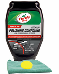 Turtle Wax Premium Grade Polishing Compound, Microfiber Cloth & Foam Pad Kit