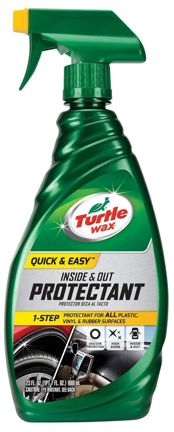 Turtle Wax Quick Amp Easy Inside And Out Protectant 23 Fl