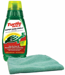 Turtle Wax Super Hard Shell Liquid Wax (16 oz.) & Microfiber Cloth Kit
