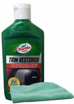Turtle Wax Trim Restorer (10 oz) & Microfiber Cloth Kit