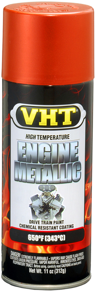 Image of VHT High-Temp Engine Fire Engine Red Metallic Paint (11 oz.)