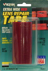 "Image of Victor Extra Wide Lens Red Repair Tape 3 5/8"" X 60"""