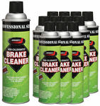 Johnsen's VOC Compliant Non-Chlorinated Brake Parts Cleaner - 12 Pack (14 oz)