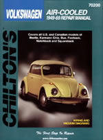 Image of Volkswagen Air-Cooled 1949-69 Chilton Manual