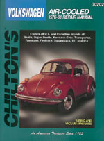 Image of Volkswagen Air-Cooled (1970-81) Chilton Manual