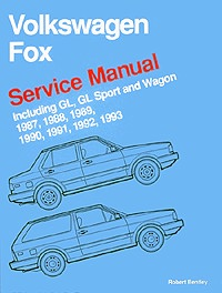 Volkswagen Fox Service Manual (1987-1993)