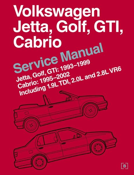 volkswagen jetta golf gti cabrio service manual 1993 2002 rh autobarn net VW Golf MK8 VW Golf MK8