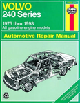 Volvo 240 Series Haynes Repair Manual (1976 - 1993)