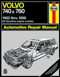 Volvo 740 & 760 Haynes Repair Manual (1982 - 1988)