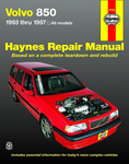 Volvo 850 Haynes Repair Manual (1993 - 1997)