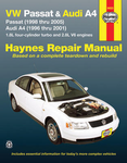 VW Passat & Audi A4 Haynes Repair Manual (1996-2005)