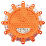 Wagan LED Flashing Roadside Emergency Disk (FRED) Flare