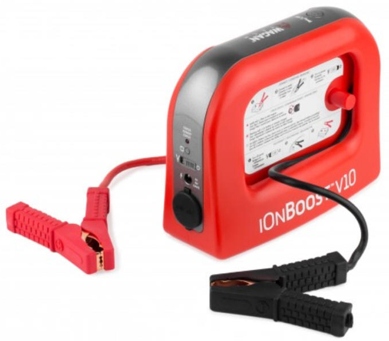 Image of Wagan 400 Amp IonBoost V10 Portable Jump Starter & USB Charger