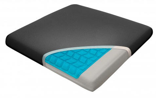 Image of Relax Fusion Memory Foam & Cooling Gel Seat Cushion