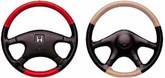 Wheelskins Two-Tone Genuine Leather Steering Wheel Covers