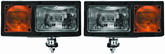 Wolo Snow Bright 12V Heavy-Duty Snow Plow Light Set
