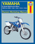 Yamaha 2-Stroke Motorcross Bikes Haynes Repair Manual (1986 - 2006)