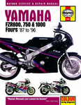 Yamaha FZR600, 750 and 1000 Haynes Repair Manual (1987 - 1996)