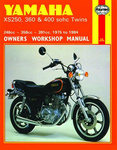 Yamaha XS250, 360 and 400 SOHC Twins Haynes Repair Manual (1975 - 1984)