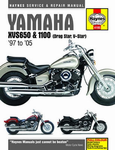 Yamaha XVS650 & 1100 Haynes Repair Manual (1997-2005)
