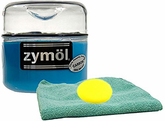 Zymol Carbon Wax (8 Oz) & Microfiber Cloth & Foam Pad Kit
