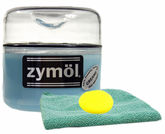 Zymol Creame Wax (8 Oz) & Microfiber Cloth & Foam Pad Kit