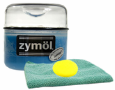 Zymol Japon Wax (8 Oz) & Microfiber Cloth & Foam Pad Kit