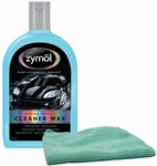 Zymol Natural Liquid Cleaner Wax (16 oz) & Microfiber Cloth Combo Kit