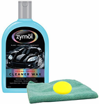 Zymol Natural Liquid Cleaner Wax (16 oz), Microfiber Cloth & Foam Pad Kit