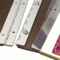 A3+ Portrait Size Adhesive Hinge Strips  - 10 Pack