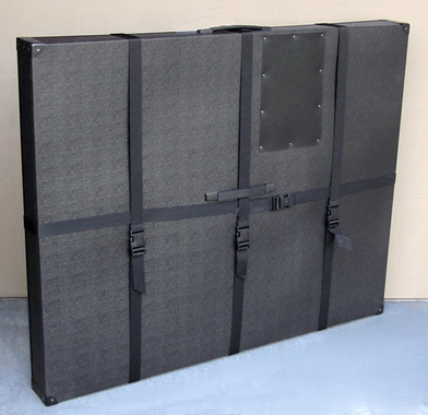 "33""x42""x3"" Hard Sided Art Shipping & Carrying Case for Poster Boards"
