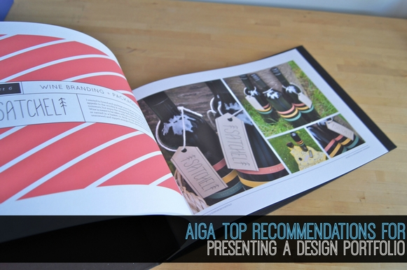 AIGA�s Top Recommendations for Presenting a Design Portfolio