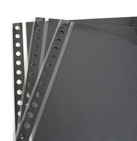 "Archival Page Protectors REFILL PAGES for 8.5""x11"" - 10 Pack"