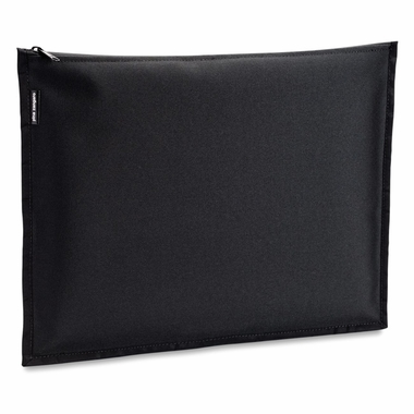 "Black Nylon Zippered Outer Jacket For 8.5""x11"" and A4 Size Screwpost Binders"