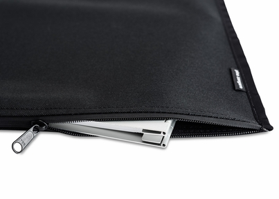 "Black Nylon Zippered Outer Jacket For 11""x17"" and A3 Size Screwpost Binders"