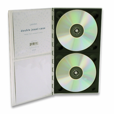 Camden Archival Aluminum Double Jewel Case
