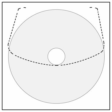 CD / DVD Pocket - 5 pack