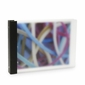 "Frost Semi-Opaque Acrylic 1"" 3-Ring Binders 8.5""x11"" Landscape"
