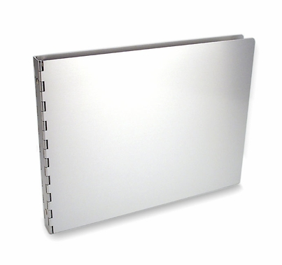 "Machina Aluminum 1/2"" 8.5""x11"" Landscape 3-Ring Binders"
