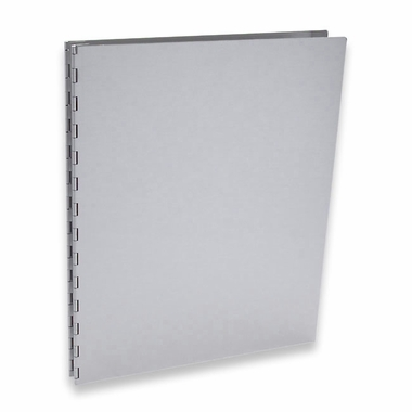 "Pina Zangaro Machina 14""x11"" Aluminum Screwpost Presentation Book + 20 Archival Sheet Protectors"