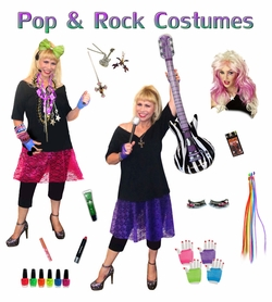 1980's Pop & Rock! Plus Size Costumes