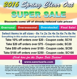 2016 Spring Clear Sale