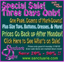 3 - DAY SUPER SALE!! - PRICES AS MARKED!!